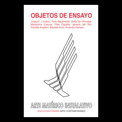 OBJETOS DE ENSAYO: ARTE MATÉRICO INSTALATIVO